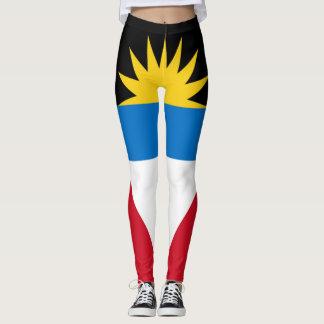 Antigua-Flagge voll Leggings