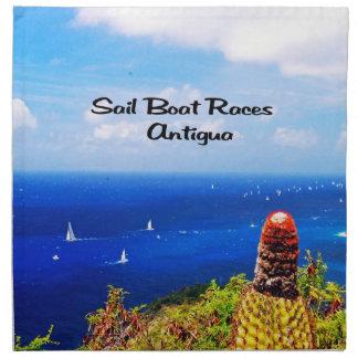 Antigua-Segelbootrennen Serviette