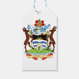Antigua- und Barbados-Staatsangehörig-Siegel Geschenkanhänger