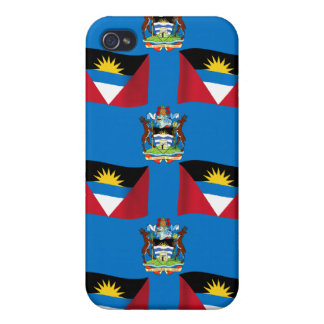 Antigua- und Barbuda-Wappen iPhone 4/4S Hülle