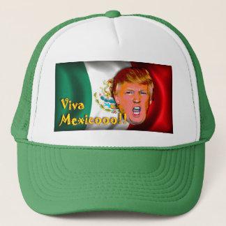 Antihut donald Trump Viva Mexiko Truckerkappe