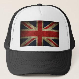 Antike britische Gewerkschafts-Jack-Flagge Truckerkappe