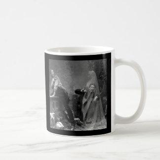 Antike Geist-Fotografie-Tasse Kaffeetasse