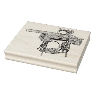 Antike Nähmaschine-Gummikunst-Briefmarke Gummistempel