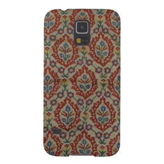 Antike Osmane-türkischer Textiltelefon-Kasten Galaxy S5 Hülle