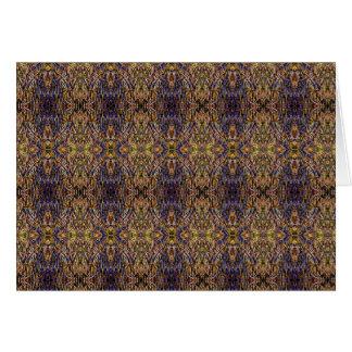 Antike persische Wolldecke - schauen Sie CGGWOMF Mitteilungskarte
