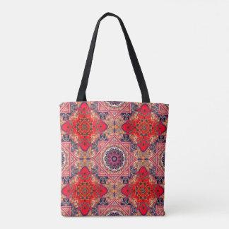 Antike rote Kreuz-abstrakte Tasche