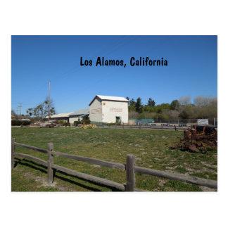 Antike Scheune, Los Alamos, Caifornia Postkarte