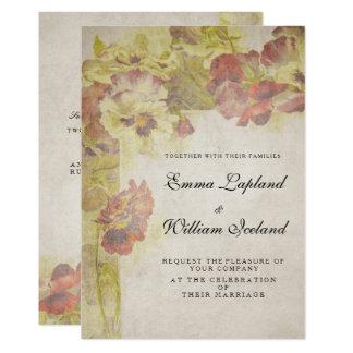 Antike Vintage Rosen, die Einladung Wedding sind