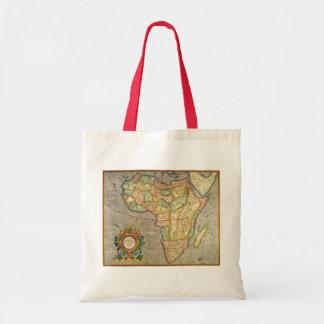 Antike Welts-Mercator-Karte von Afrika, 1633 Tragetasche