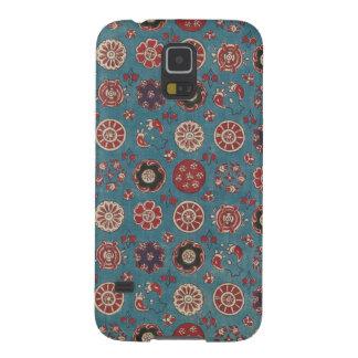 Antiker Indien-Textiltelefon-Kasten Hülle Fürs Galaxy S5