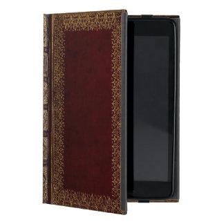 Antiker lederner BuchBibliophile iPad Mini Hüllen