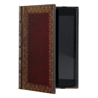 Antiker lederner BuchBibliophile Schutzhülle Fürs iPad Mini