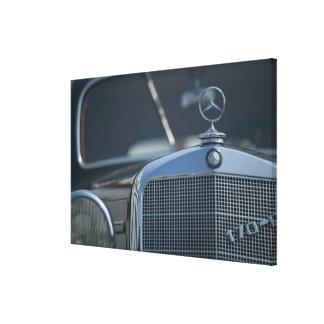 antiker Mercedes 4 Gespannter Galeriedruck
