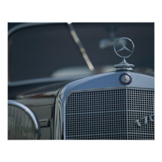 antiker Mercedes 4 Poster