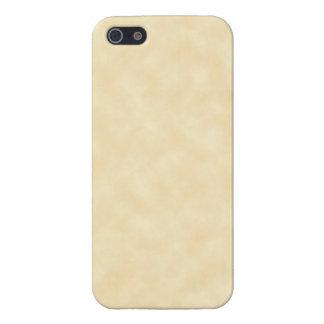 Antiker natürlicher Pergament-Hintergrund iPhone 5 Case