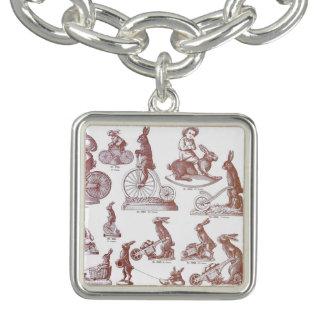 Antiker Schokoladen-Form-Form-Katalog Ostern Armband