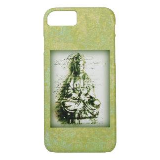 Antikes grünes Kwan Yin iPhone 7 Hülle