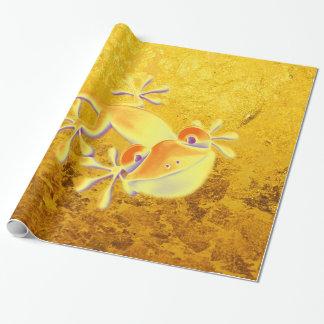 Antikes Kunst-Verzierungs-Muster + Lächelnder Geschenkpapier