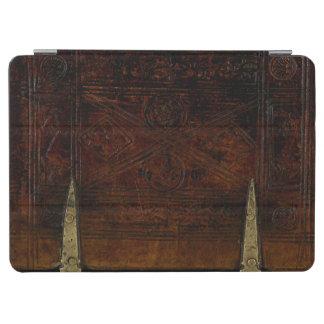 Antikes Leder mit Messingverschlüssen iPad Air Hülle