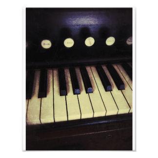 Antikes Pumpen-Organ Fotografien