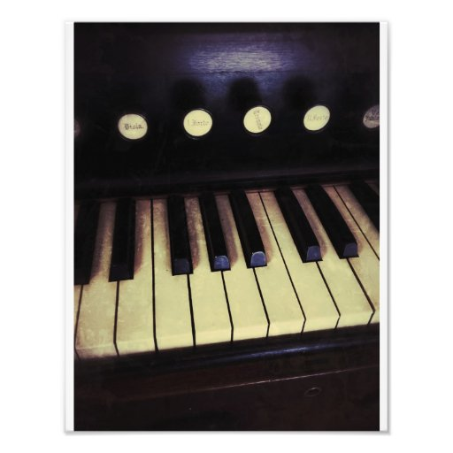 Antikes Pumpen-Organ Kunst Foto