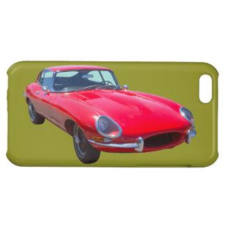 Antikes Sport-Auto 1964 Rot-Jaguars XKE Hülle Für iPhone 5C