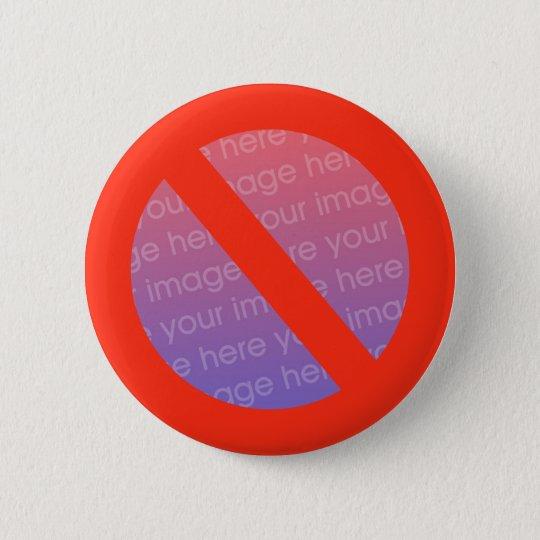 Antiknopf - addieren Sie einfach pic Runder Button 5,1 Cm