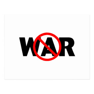 Antikrieg Postkarte