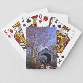 Antilopen-Nebenfluss-Brücke, Eagle-Punkt, Oregon Spielkarten