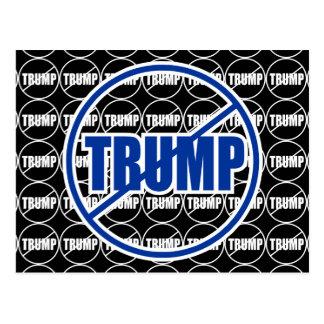 AntiTrumpf keine Trumpf-Gewohnheit Postkarte