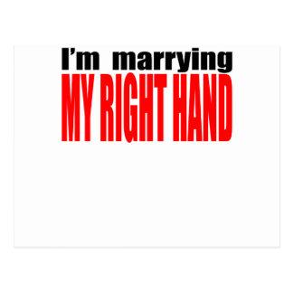 Antivalentine-Single heiratendes rechtes heartbr Postkarten