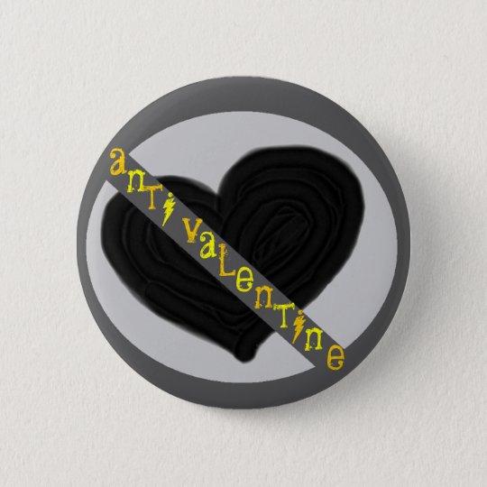 AntiValentinsgruß Runder Button 5,7 Cm