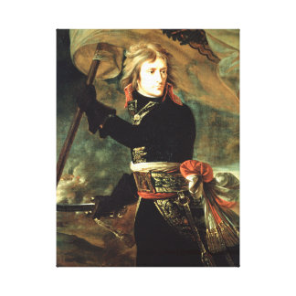 Antoine-Jean Gros Bonaparte am pont d'Arcole Leinwanddruck