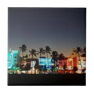 Antrieb USA, Florida, Miami Beach, Ozean, Fliese