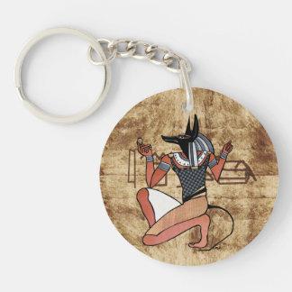 Anubis The Guardian Ägypter Schlüsselanhänger