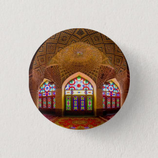 ANZEIGE mit Respekt: Religiöser Ort der Verehrung Runder Button 3,2 Cm