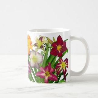 Anzeige von Taglilien II (whitebackground) Kaffeetasse