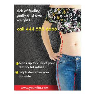 Anzeigen für Diät Flyer