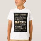 Anziehungskräfte und berühmte Orte von Madrid, T-Shirt