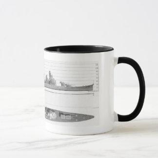 Aoba Klassen-Kreuzer Tasse