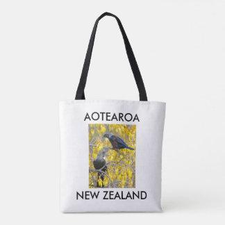 aotearoa Neuseeland Doppeltuis Tasche