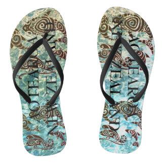 aotearoa Neuseeland-Ozeanleben Flip Flops