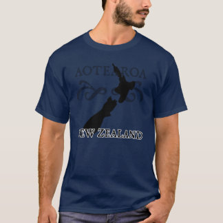 Aotearoa Neuseeland T - Shirt