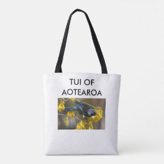 aotearoa Neuseeland Tui 3 Tasche