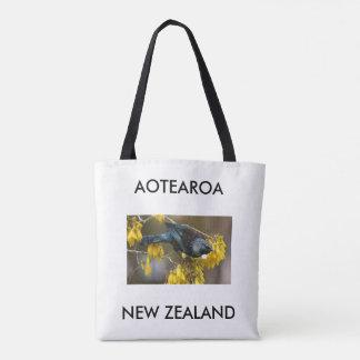 aotearoa Neuseeland Tui Tasche
