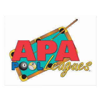 APA Pool-Ligen Postkarte