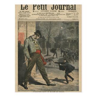 Apache ist eine Belästigung für Paris Postkarte