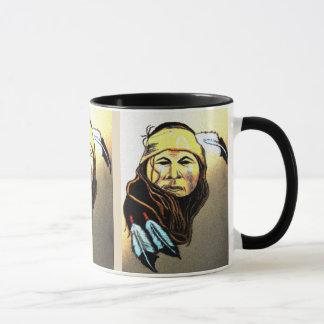 Apache-Krieger Tasse