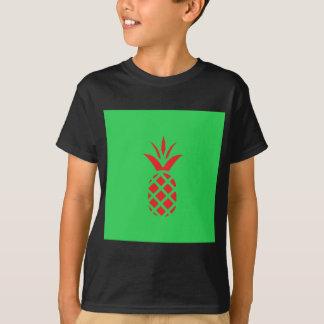 Apfel der roten Kiefer im Grün T-Shirt